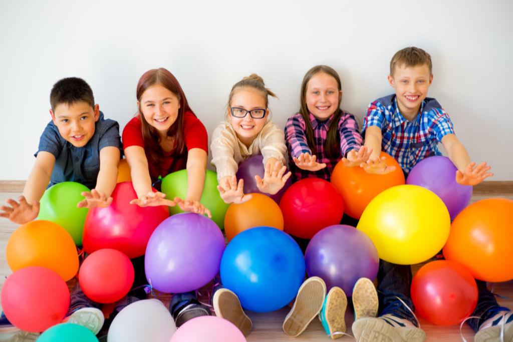 balloner er som lykke