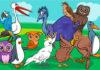 find 7 fejl hos dyrene