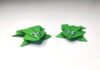 Hoppende origami papir frø