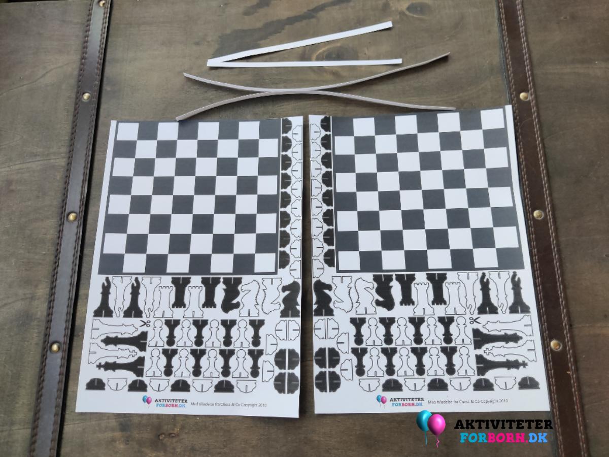 Print dit eget skakbræt