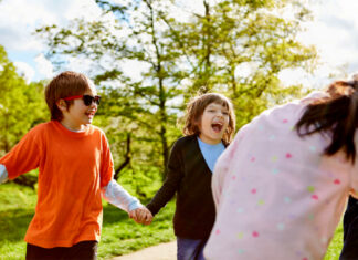 Grinebider er en sjov grineleg for børn og voksne