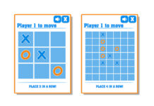 Spil kryds og bolle online