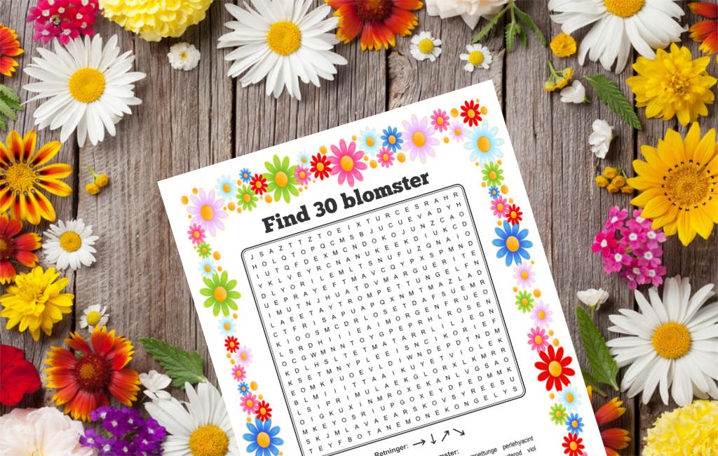 find 30 blomster