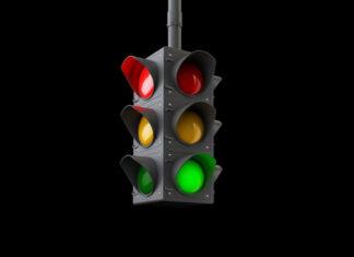 Trafiklys - Rødt lys, grønt lys.