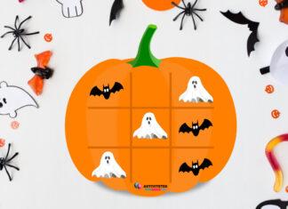 halloween kryds og bolle top