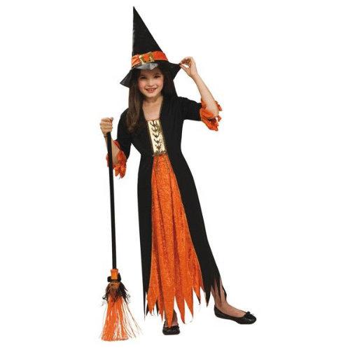 hekse kostume til børn