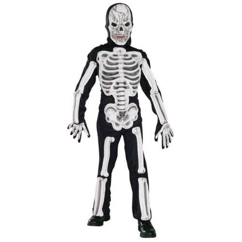 skelet kostume til børn